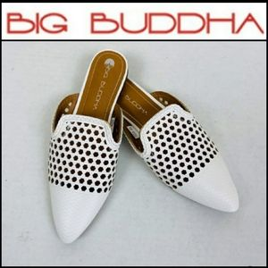 Big Buddah preforated mules